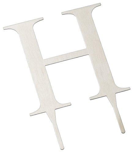 Weddingstar-3-Inch-H-Brushed-Silver-Monogram-Letter-H