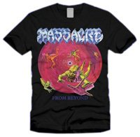 Massacre T-shirt (From Beyond) black Medium