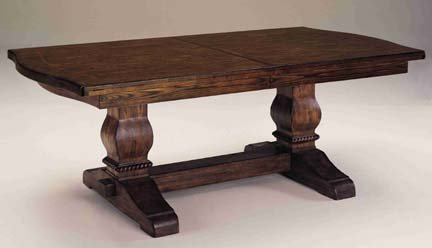 Eddie Bauer   Lakeridge Trestle Table By Lane Furniture