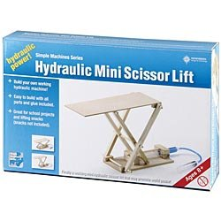 Simple Machines Series: Hydraulic Mini Scissor Lift