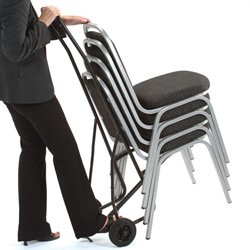 Brand New. Trexus Chair Trolley for 10 Stacking Chairs
