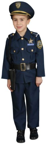 Police Child Kids Boys Costume