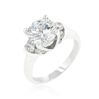A Little Bling Engagement Ring