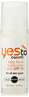 Yes To Carrots Daily Facial Moisturizer SPF 15 1.7 Fluid Ounce