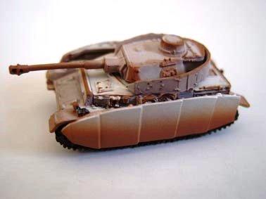 ドイツ軍 �W号戦車 中戦車 J型 冬季迷彩(ホワイト上塗り)