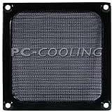 140mm Aluminium Mesh Fan Filter : Black