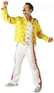 Freddie Mercury Fancy Dress Costume - Extra Large size