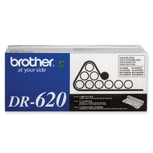 Brother Imaging Drum. Dr620 Drum Unit For Mfc8000 Series & Hl5300 Series. Laser Imaging Drum - 25000 Page - 1 Pack