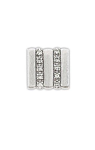 14K White Gold Stunning Tie Tac-86203