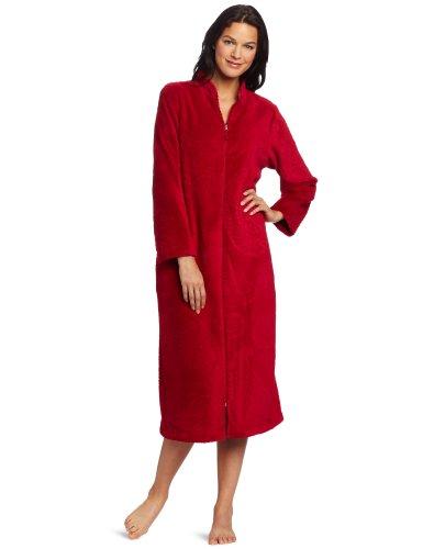 Stan Herman Women's Wrap Lounger Robe w/front zipper