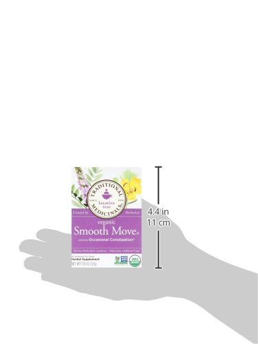 032917000095 - Traditional Medicinals Organic Smooth Move Tea, 16 Tea Bags (Pack of 6) carousel main 8
