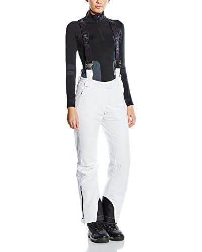 HYRA Pantalone da Sci Corvara Lady [Bianco]