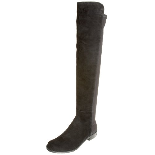 Stuart Weitzman Women's 5050 Boot,Black Suede,8 M US