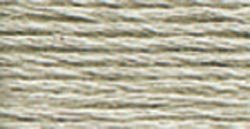 DMC Pearl Cotton Skeins Size 5 27.3 Yards Light Beaver Grey 115 5-648; 12 Items/Order