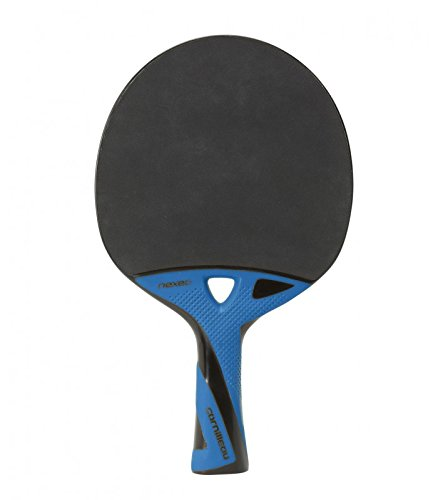 Cornilleau Nexeo X90 Carbon Racchette Ping Pong, Blu/Nero