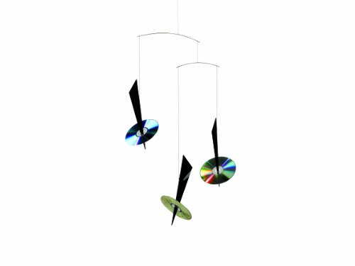 Flensted Mobiles Nursery Mobiles, Reflections Black