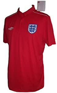UMBRO ENGLAND MENS POLO SHORT SLEEVE SHIRTS RED M L XL 2XL TAILORED BY UMBRO NEW (MEDIUM)