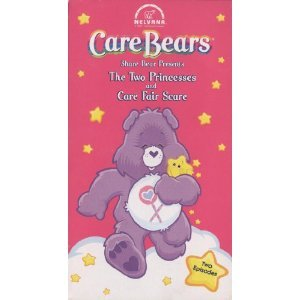 Childrens Care Bears - Share Bear Presents - The Two Princesses and Care Fair Scare Vhs Tape