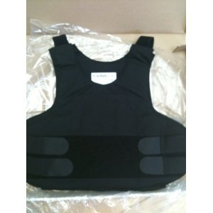Bulletproof Vest Level IIIA (Size Large) - Concealable Body Armor Vest Level IIIA