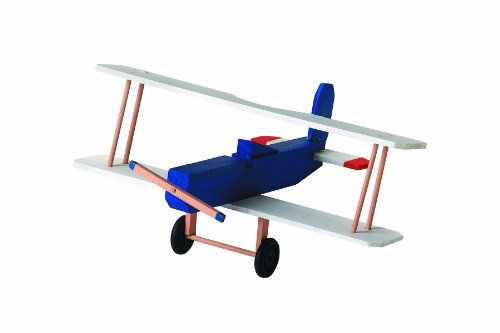 WeGlow International Bi Plane Wooden Model Kit 2-Pack - 1