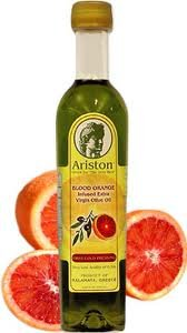 Ariston Blood Orange Infused Extra Virgin Gourmet Olive Oil (Product of Greece) by Ariston Specialties