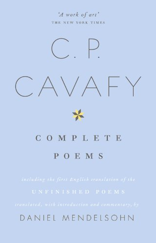The Complete Poems of C.P. Cavafy