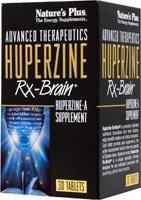Nature's Plus - Huperzine Rx-Brain, 50 mcg, 30 tablets