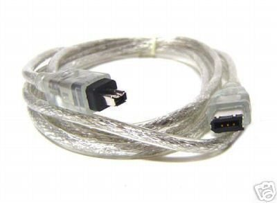 1394a FireWire 6-pin to 4-pin Cable - 1M