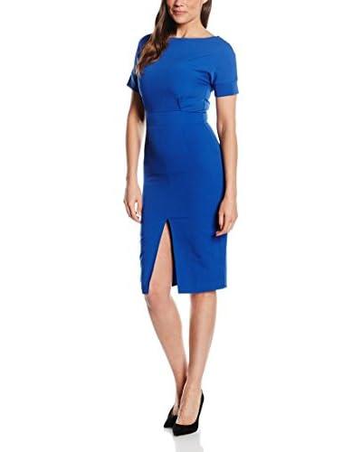 PEPERUNA Vestido Azul Royal