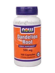 Dandelion Root 500 mg 100 Capsules by NOW Foods
