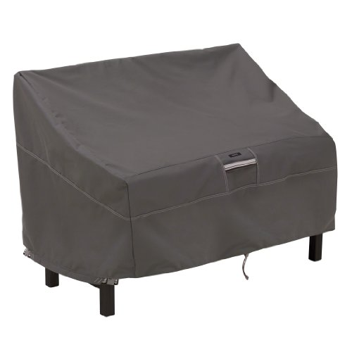 Classic Accessories 55-164-015101-EC Ravenna Patio Bench Cover, Taupe