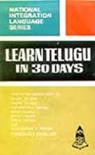 Learn Telugu in 30 Days through English by…