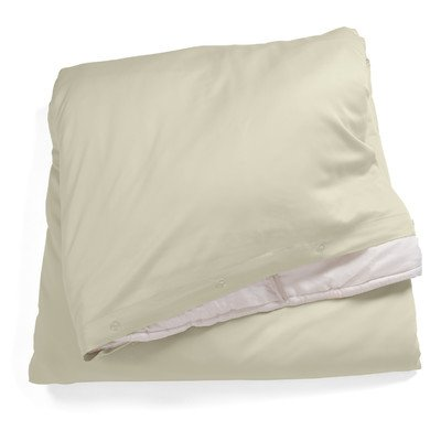 Bamboo Dreams Comforter Cover Color: Stone, Size: Queen front-707453
