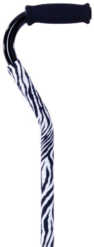 Cane Expressions Removable Decorative Cane Sleeves, Zebra