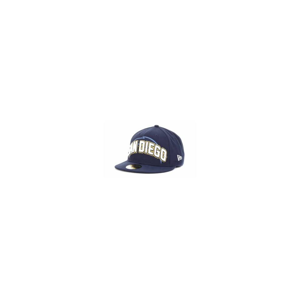 San Diego Chargers New Era NFL 2012 59FIFTY Draft Cap
