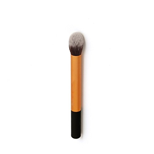 U-beauty(TM) Professional High quality Sofe Makeup Brush tools Smooth Portable wool Cosmetic setting brush eyebrow horse hair metal make up (U Smooth Hair Brush compare prices)