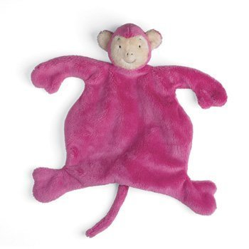 Velveteenie Pink Circus Monkey Baby Cozies by North American Bear