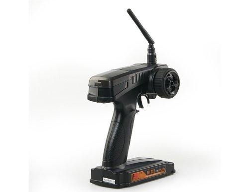 FlySky CT-2 2.4GHz 2 Channels Transmitter Remote Controller for Car Boat (Black)
