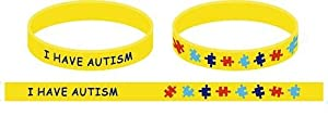 I Have Autism Wristband (Youths)