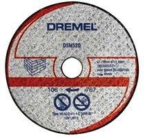 Dremel Mauerwerk-Trennscheibe DSM520 77 mm