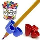 The Pencil Grip C.L.A.W Lot de 5 guide-doigts pour crayon Couleurs assorties Taille S