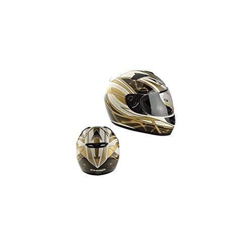 CASQUE INTEGRAL CHOK STARLIGHT GOLD VERNI T55-56 S