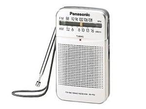 Panasonic RF-P50 tragbares Radio silber