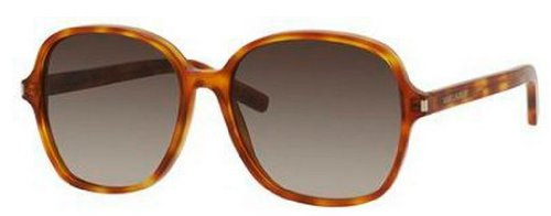 Yves Saint Laurent Yves Saint Laurent Classic 8/S Sunglasses-0919 Havana (HA Brown Grad Lens)-57mm