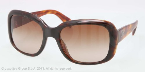 prada Prada 17PS NAK6S1 Light Havana 17PS Swing Square Sunglasses Lens Category 3