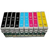 WANTMOREINK 10 x INKS (2 FULL SETS PLUS 2 EXTRA BLACK) EPSON COMPATIBLE INK CARTRIDGES FOR EPSON PHOTO STYLUS BX525WD BX305F BX320FW BX625FWD SX420W SX425W SX525WD SX535WD SX620FW (4 x BLACK, 2 x CYAN, 2 x MAGENTA, 2 x YELLOW) Supplied by Delcomcomputers