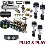 FBS-SUB-03-KIT3 Subaru Plug and Play FBSS Complete Air Suspension Kits
