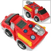 Rescue Heroes Mini-Firetruck Handheld Game