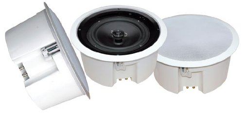 Pyle Home Pdpc5T 5-Inch In-Ceiling Flush Mount Enclosure Speaker System