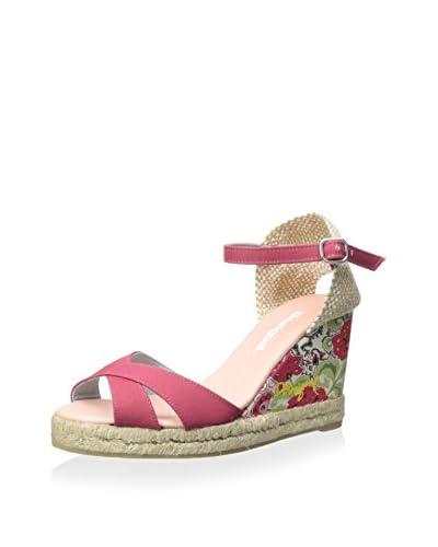 Desigual Women's Floral Print WS Wedge Sandal